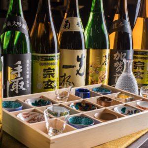 《コースでも単品飲み放題でもOK》+1000円で《最大20種》石川の地酒も飲み放題に追加!