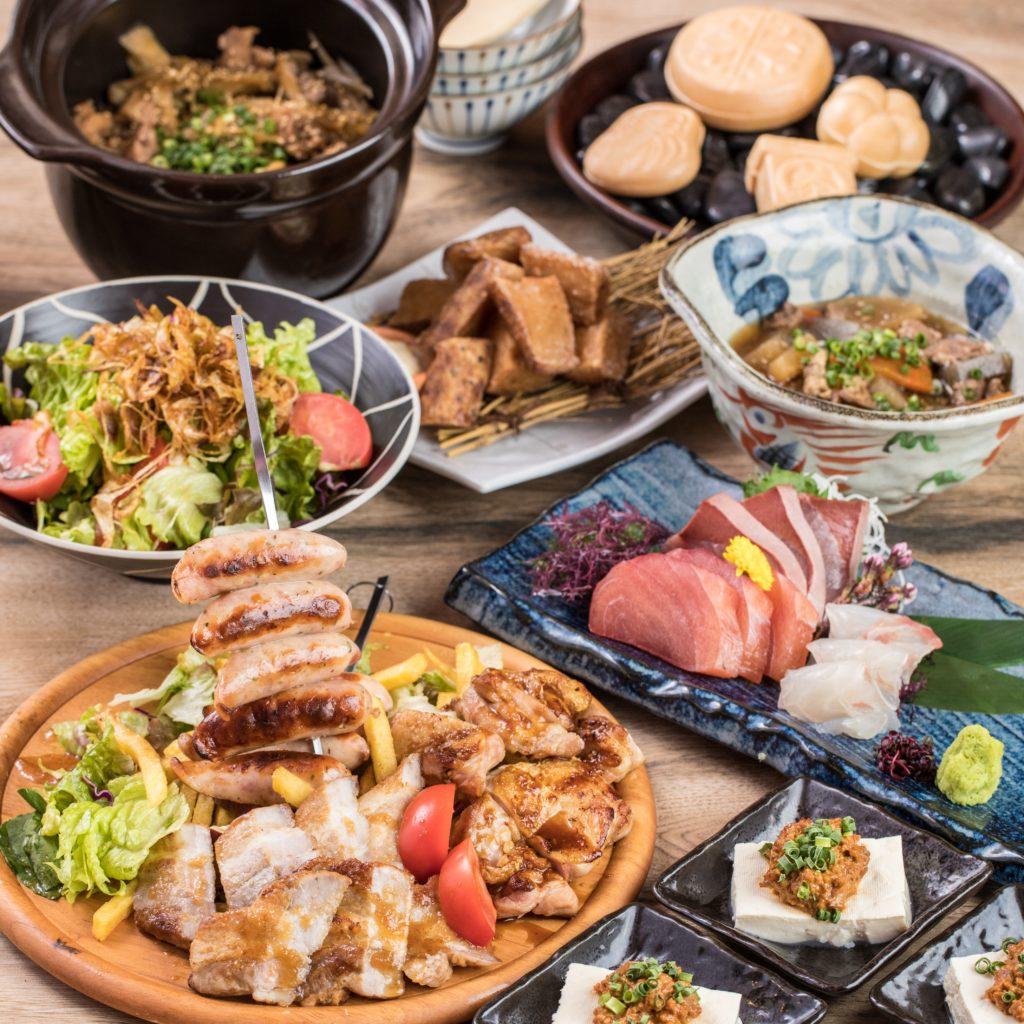 【9月限定】肉る'S 秋堪能コース*肉盛りプレート付き*2時間飲み放題 7品 4000円